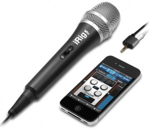iPhone microphone