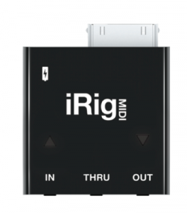 MIDI For Your iPhone or iPad: IK Multimedia Announces the iRig MIDI