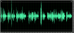 use compression in audio recording