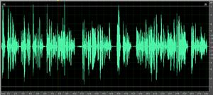 use compression in audio recording