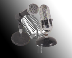 picture of microphones
