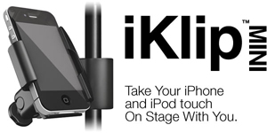 iKlip-Mini mic stand clip for iPhone