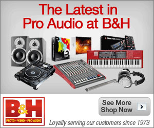 New Arrivals For Pro Audio at B&H