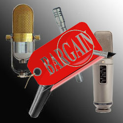 audio recording gear deals