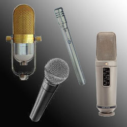 an analysis on types of microphone available in market The last type is a microphone where the membrane is connected to a coil, centred in a magnetic field, and whose movements, triggered by the mechanical fluctuations of the membrane, give origin to a potential differential in the poles of the coil.