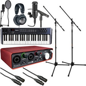 the home recording musicians starter bundle. Black Bedroom Furniture Sets. Home Design Ideas