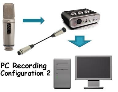 computer recording configuration 2