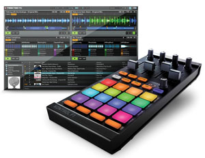 Native Instruments Traktor Pro 2.5 and Kontrol F1 For DJs