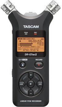 Tascam-DR-07mkII Portable Digital Audio Recorder