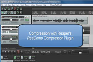 Vocal Compression Using Reaper's ReaComp Effect Plugin