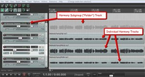 Creating Subgroups In Reaper and Pro Tools