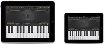ipad mini tv ad piano app