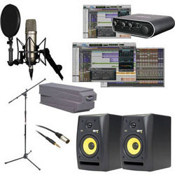 Astounding New Home Recording Bundles Rode And Pro Tools Vocal Studio Largest Home Design Picture Inspirations Pitcheantrous