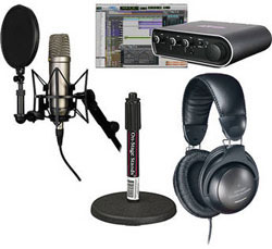 new home recording bundles rode and pro tools vocal studio. Black Bedroom Furniture Sets. Home Design Ideas