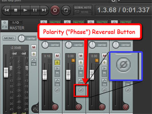 Using The Polarity Switch To Optimize Live Drum Sound