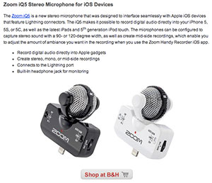 New Zoom Recording Products Just Announced At 2014 NAMM