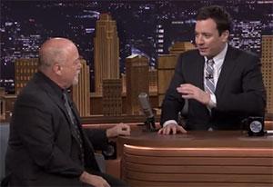 Billy Joel and Jimmy Fallon