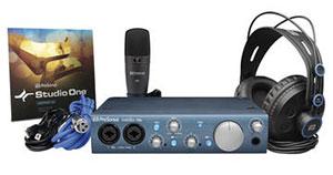 PreSonus iTwo Complete Recording Kit