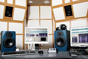 mastering studio gear