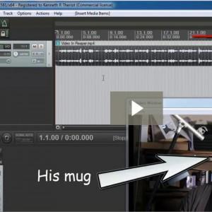 Editing Video In Reaper