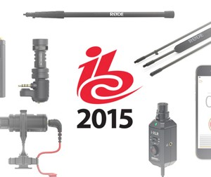 6 New Products Are Announced By Rode At IBC 2015