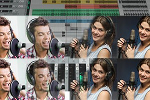 Acoustic Pop Song With 3-Part Harmony Recorded on 36-Dollar Studio