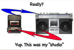 Cassette-and-Boom-Box