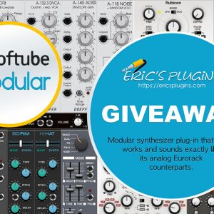 Giveaway Of Softube Modular Synthesizer At Eric's Plugins