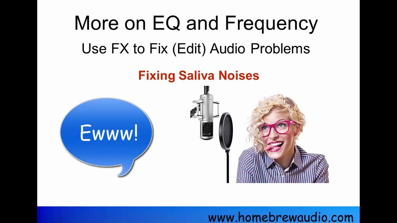How To Use An Audio Editor To Remove Saliva Noises From Voice Recordings