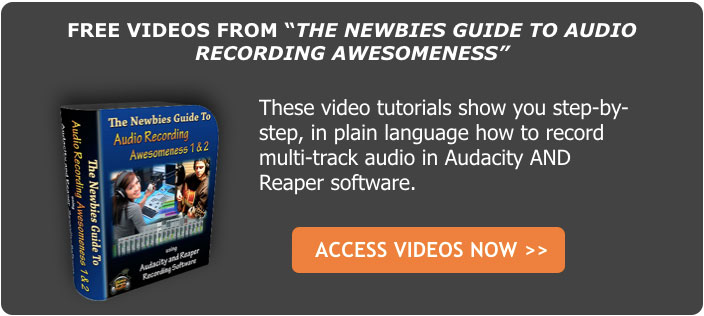 audio recording course