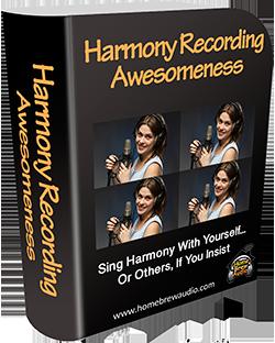 harmony recording course
