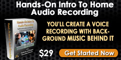 cheap home recording course