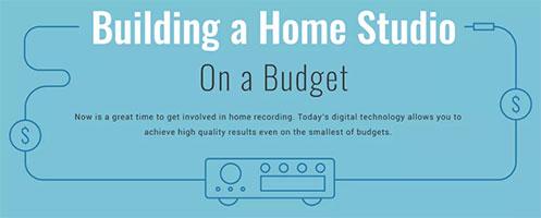 budget home recording studio pic