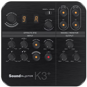 Review of The Sound Blaster K3+
